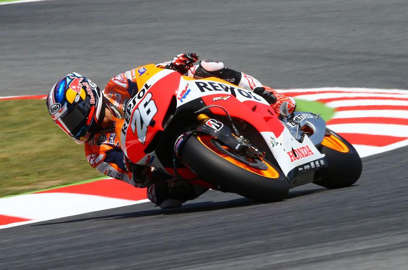 Pole de MotoGP para Dani Pedrosa en Cataluña