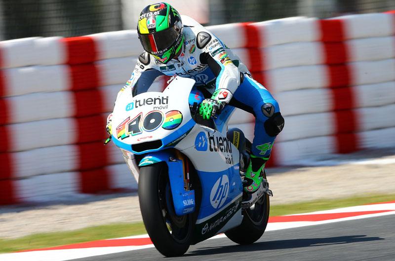 Pol Espargaró se impone a Tito Rabat en Moto2