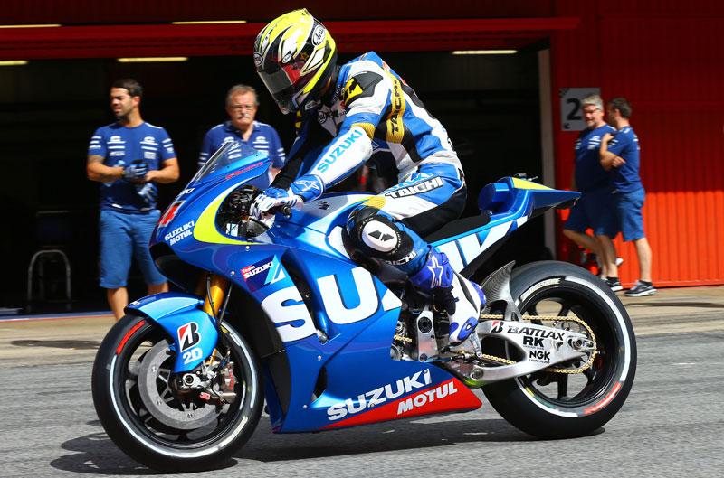 La Suzuki rueda en Montmeló, pero su retorno será en 2015