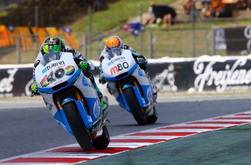 Declaraciones de los pilotos de Moto2 y Moto3 en Montmeló