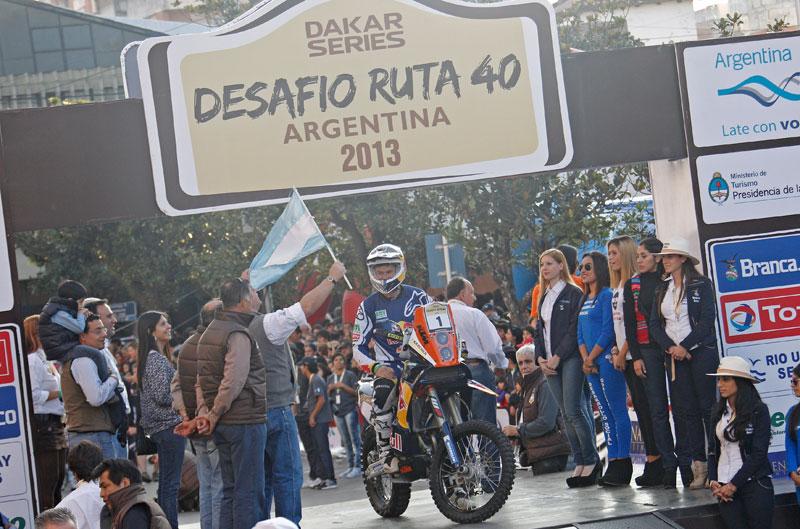Suspendida la primera etapa del Desafío Ruta 40