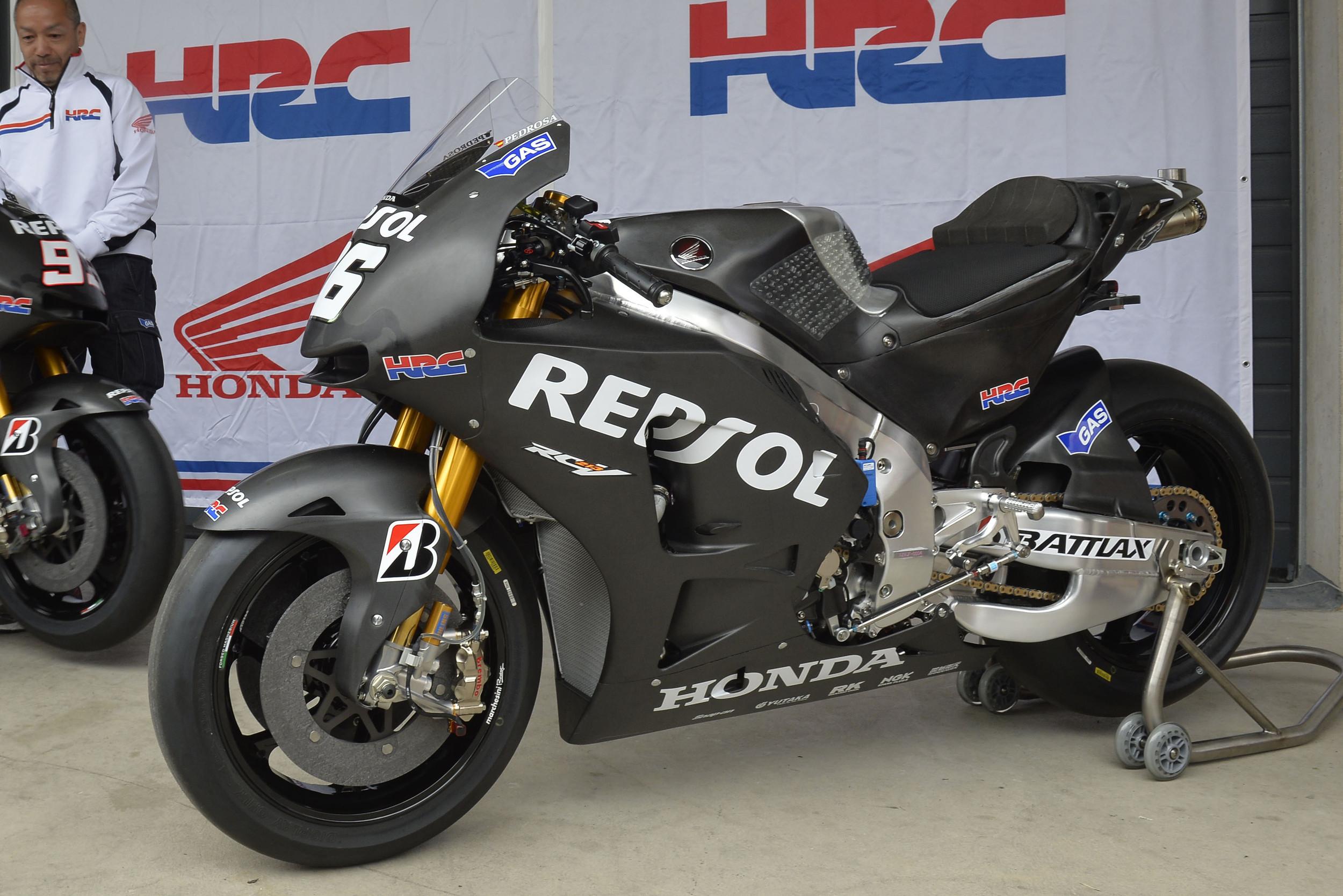 Honda ya tiene lista su RC213V de 2014