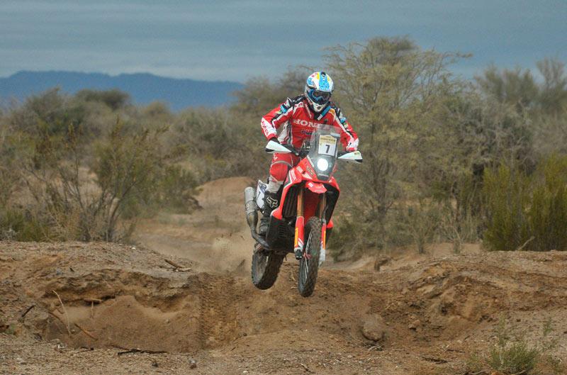Javier Pizzolito se pone líder en el Desafío Ruta 40