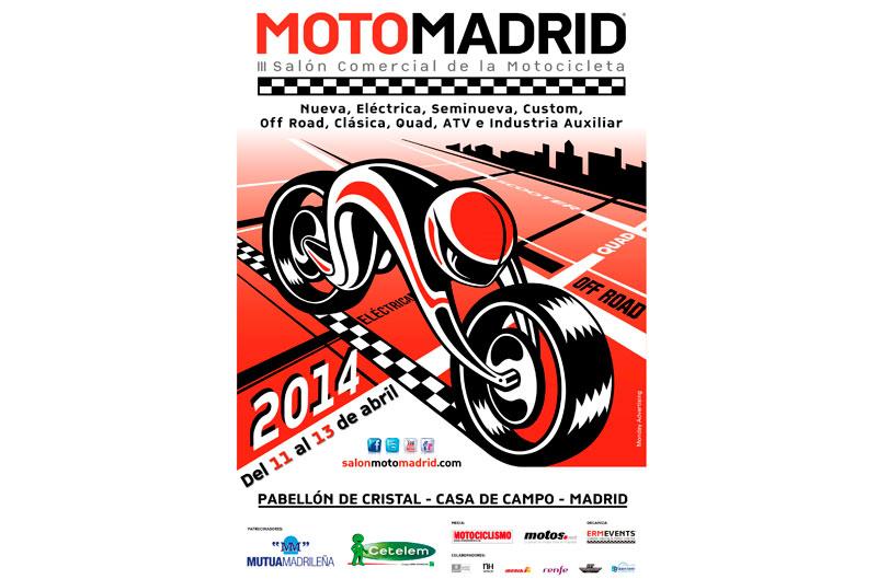 MotoMadrid ya tiene cartel para su edición 2013