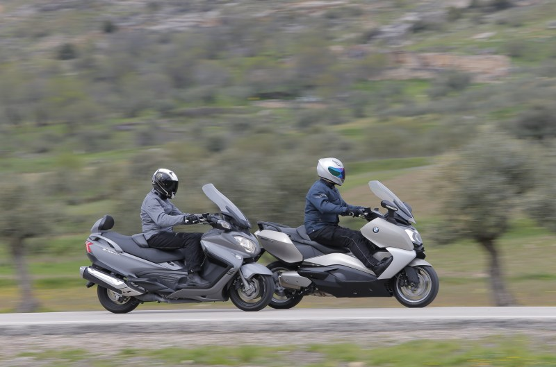 Comparativa BMW C 650 GT y Suzuki Burgman 650 Executive