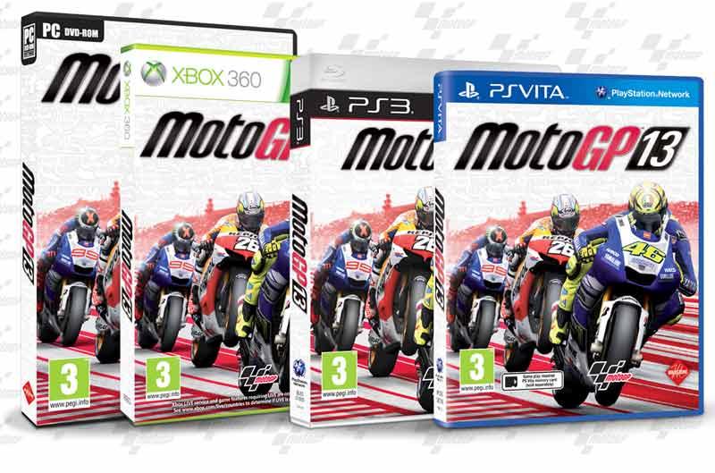 El vídeojuego MotoGP 2013, ya disponible