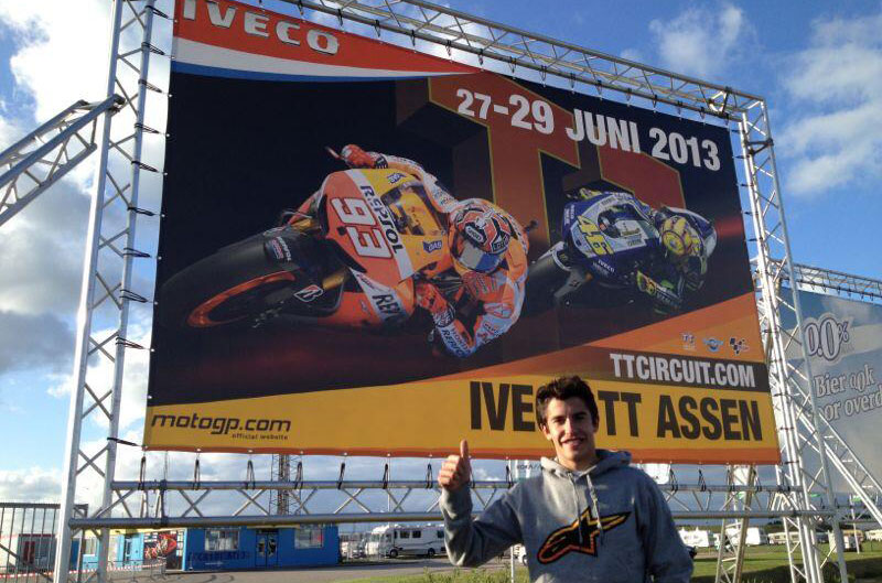 Márquez y Rossi el reclamo de Assen