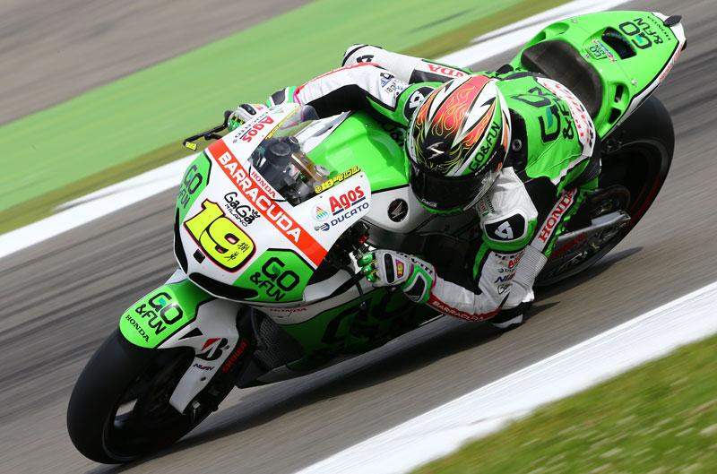 Álvaro Bautista, el más rápido en el FP3