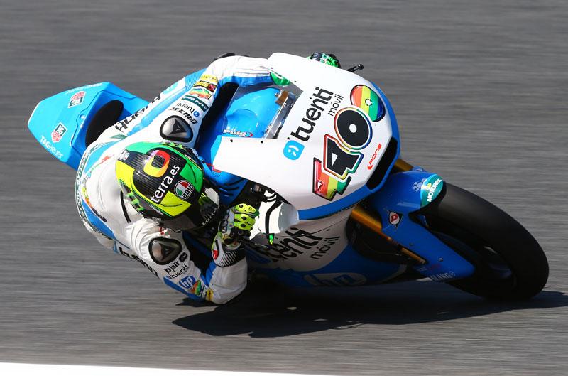 Pol Espargaró termina primero en el FP3