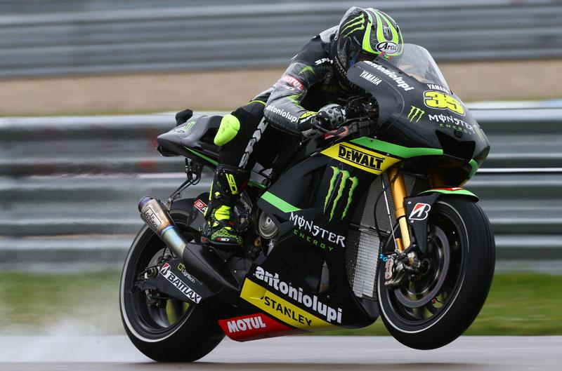 Pole de MotoGP para Cal Crutchlow en Holanda