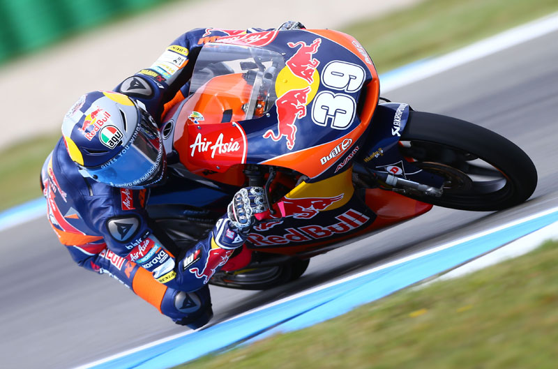 Luis Salom consigue la victoria de Moto3 en Assen