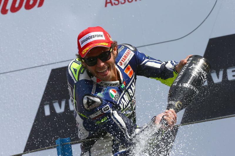 """Valentino Rossi: """"No sabía si volvería a ganar"""""""