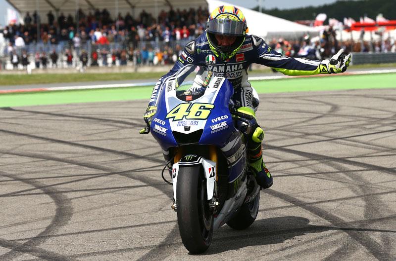 Encuesta: la victoria de Rossi en Assen