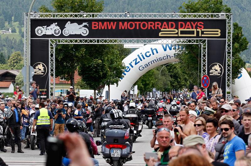 Disfrutando en el BMW Motorrad Days 2013