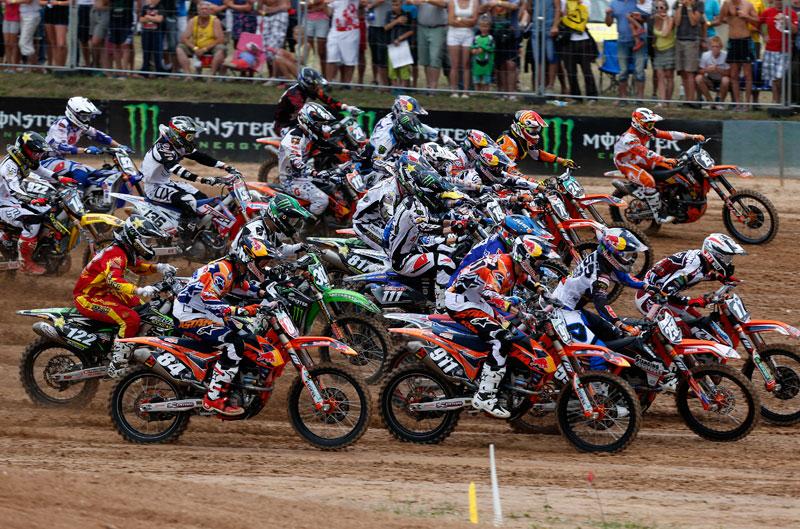 Butrón sube al podio en el MXGP de Letonia
