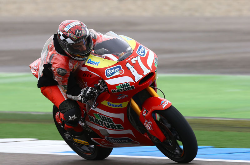 Alberto Moncayo se pierde Sachsenring, le sustituye Román Ramos