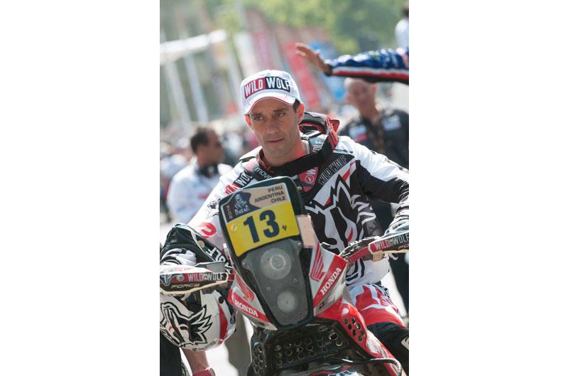 Gerard Farrés no participará en la Baja Aragón 2013