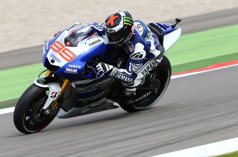 Mejor tiempo para Jorge Lorenzo en el FP1 de Sachsenring