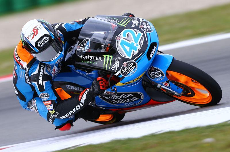 Alex Rins domina el FP2 de Moto3