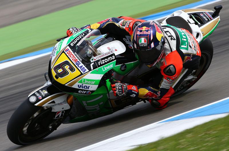 Stefan Bradl, sorprende en el FP2 de MotoGP en Sachsenring