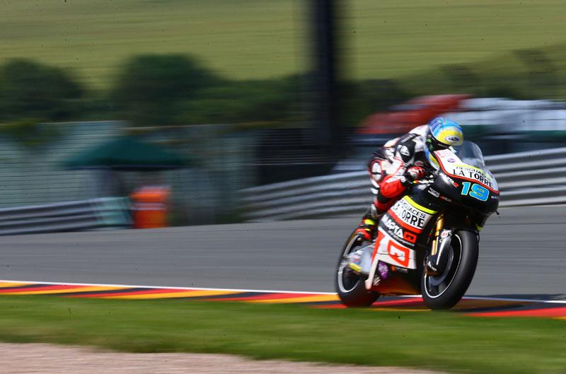 Xavier Simeon, pole de Moto2 en el GP de Alemania