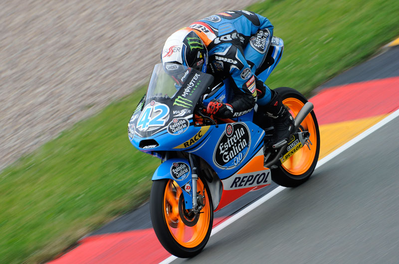 Alex Rins gana el GP de Alemania de Moto3