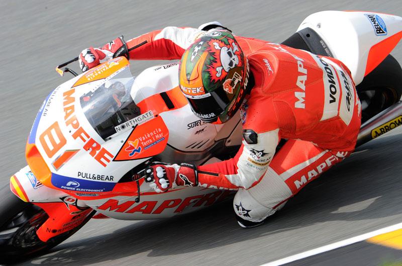 Jordi Torres gana su primera carrera en Moto2