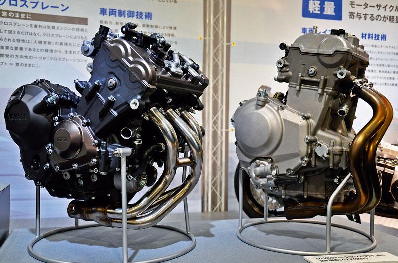 Nuevo motor bicilíndrico de Yamaha