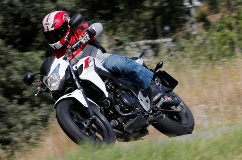 Honda CB500F. Prueba
