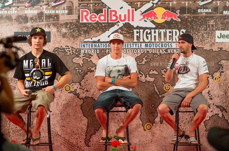 Red Bull X-fighters Madrid 2013