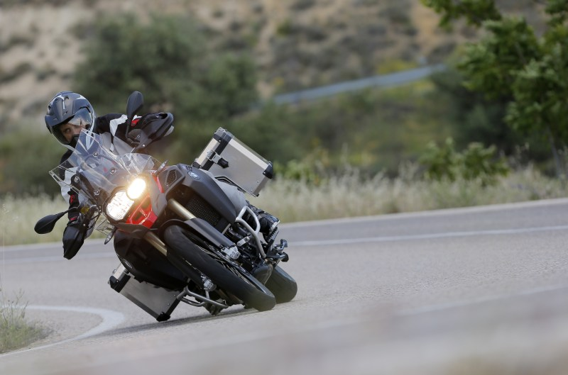 BMW F 800 GS Adventure. Prueba