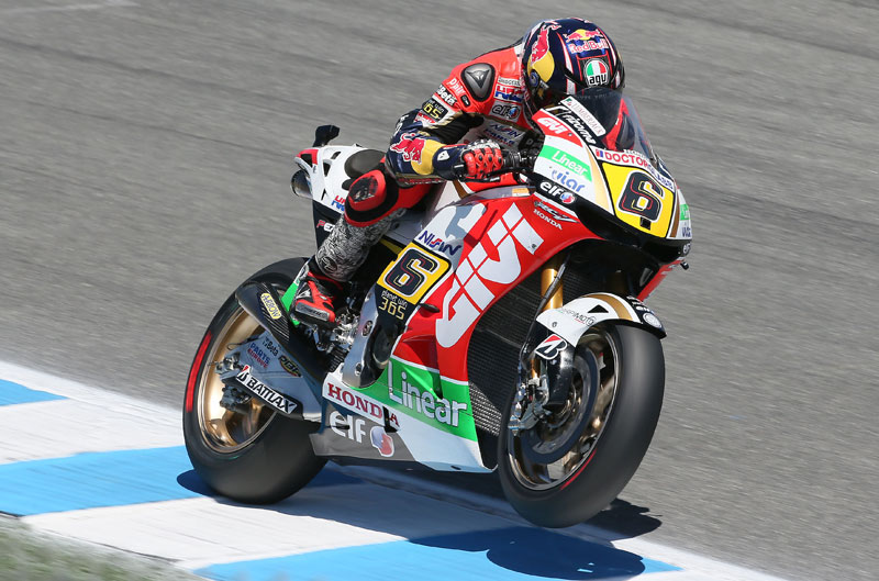 Stefan Bradl logra la pole de MotoGP en Laguna Seca