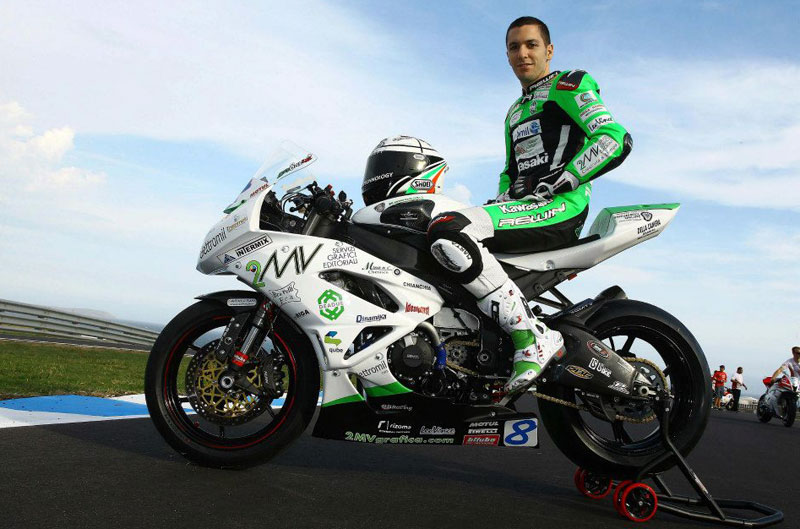 Muere el piloto de Supersport Andrea Antonelli
