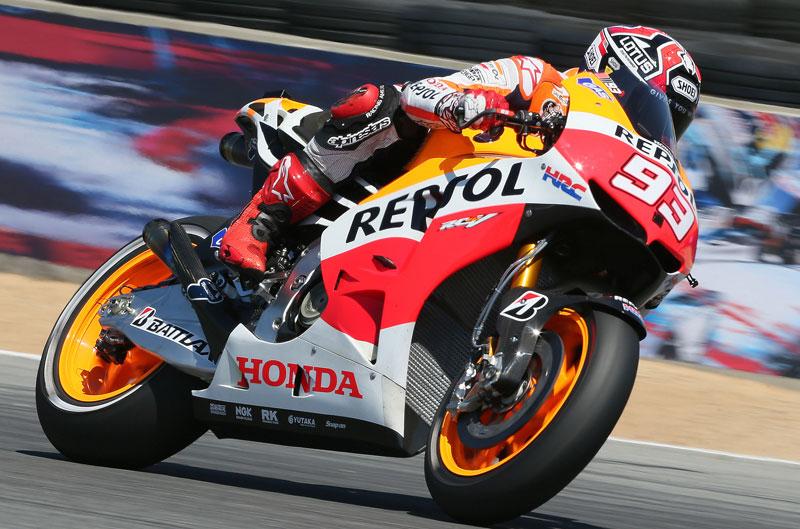 Marc Márquez gana la carrera de MotoGP en Laguna Seca