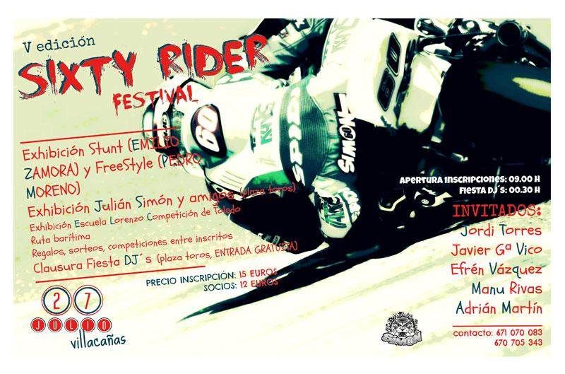 V Sixty rider festival