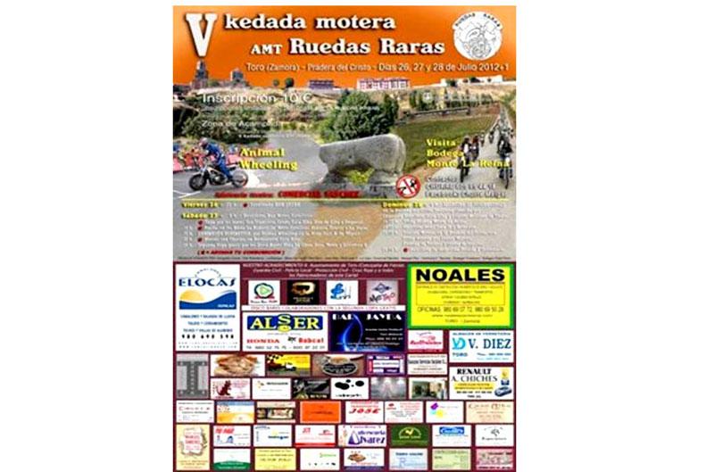 V Kedada Ruedas Raras Concentración Motera en Toro (Zamora)