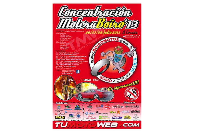 VI Concentración Motera Boiro 2013. Anulada