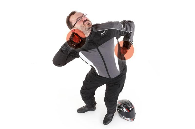 Informe: lesiones en moto