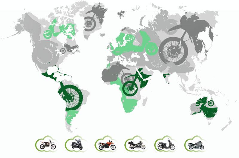 Alquila tu moto en cualquier punto del mundo con Rentalmotorbike