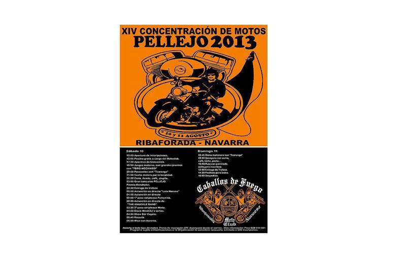 XIV Concentración de motos Pellejo 2013