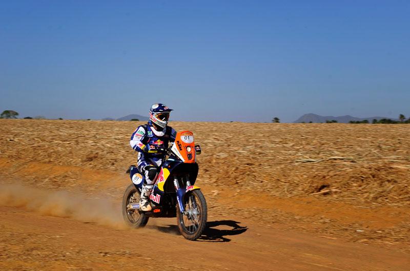 Marc Coma gana la séptima etapa del Rally dos Sertoes y ya es tercero