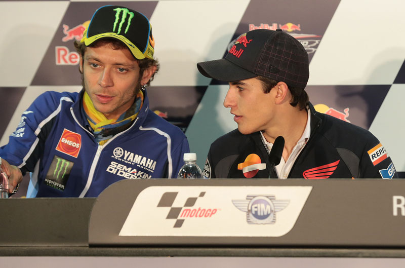Valentino Rossi: Márquez a veces es demasiado peligroso