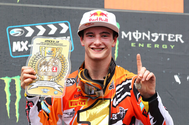 Jeffrey Herlings, campeón del Mundo MX2