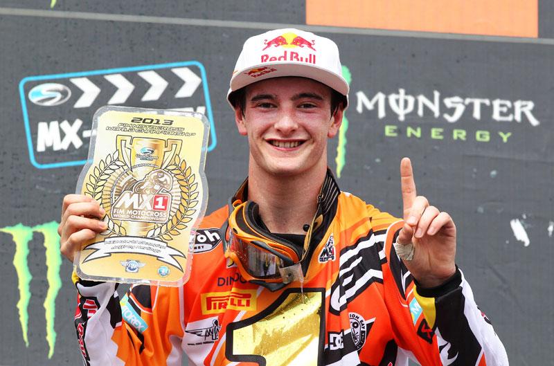 Jeffrey Herlings, campeón del Mundo MX2