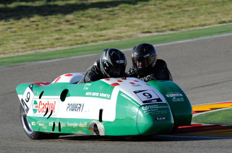 Fallece Sandor Pohl, copiloto del Mundial de Sidecars