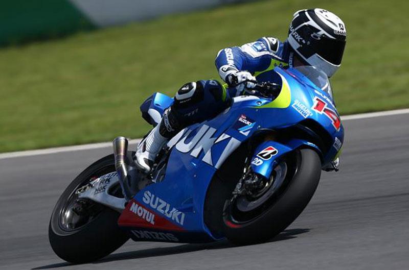 Suzuki elige chasis para su MotoGP en Motegi
