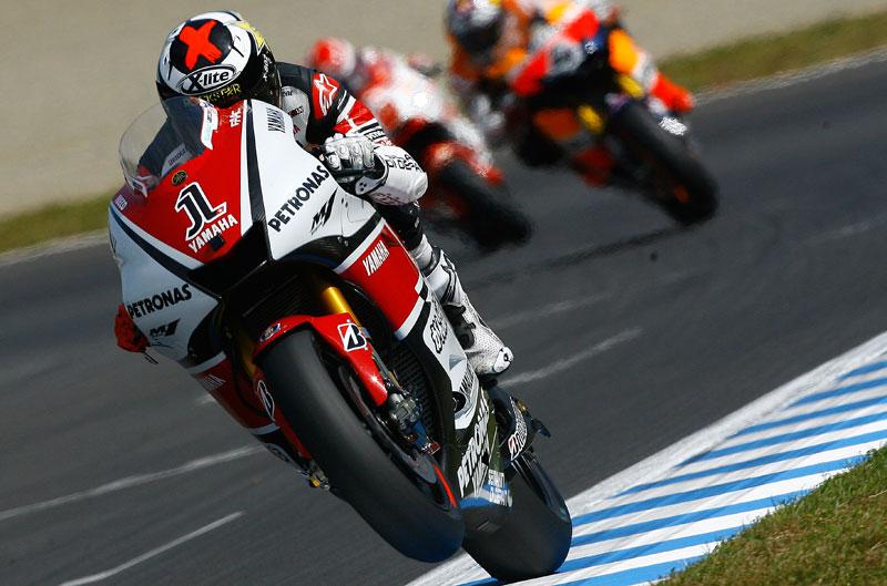 Los pilotos españoles con Yamaha