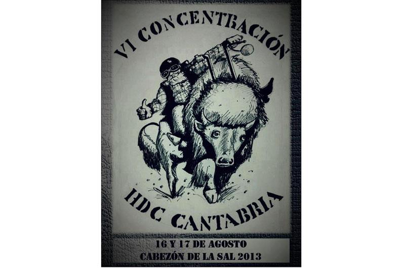 VI Concentración HDC-Cantabria