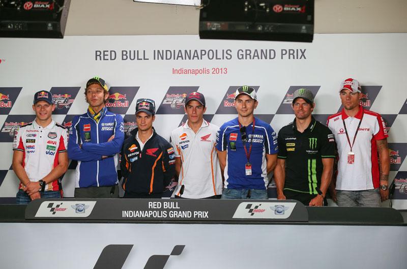Declaraciones de los pilotos de MotoGP antes del GP de Indianápolis