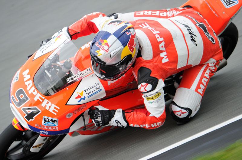 Jonas Folger comienza con ganas en el FP1 de Moto3